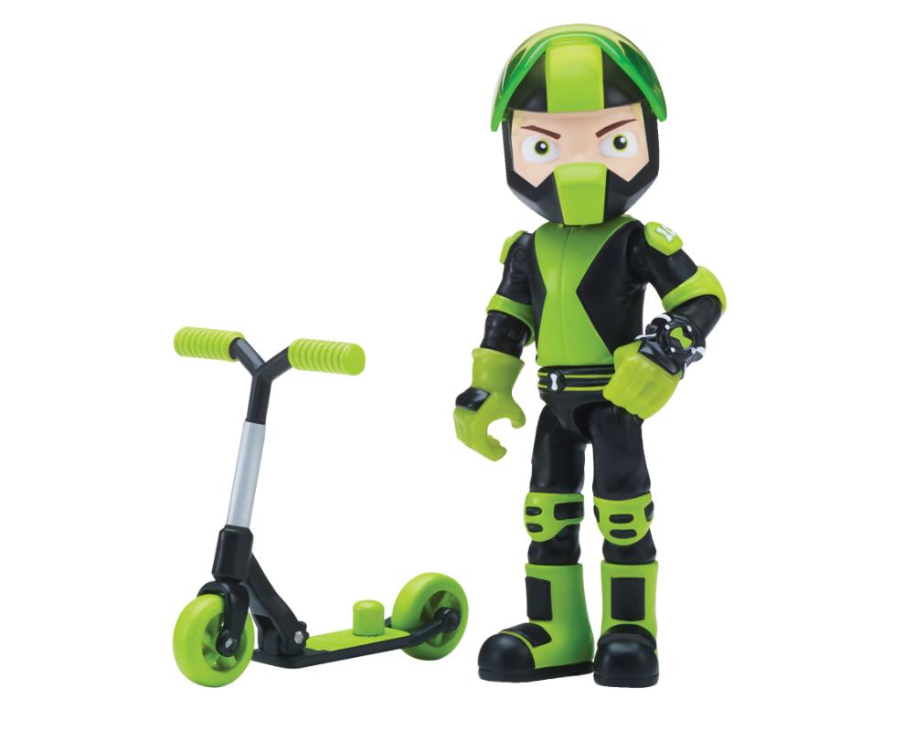 Ben 10 – Figurka podstawowa z akcesoriami 13 cm W7, 14 ass. - ben39610-ben10-figurka-podstawowa-rustbuggy-ben