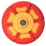 Latający Czasodysk - ep03709-latajacy-czasodysk-czerwono-pomaranczowy - miniaturka