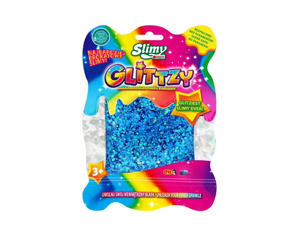 Slimy Glittzy – Masa Brokatowej Zabawy - ep03713-slimy-glittzy-niebieski