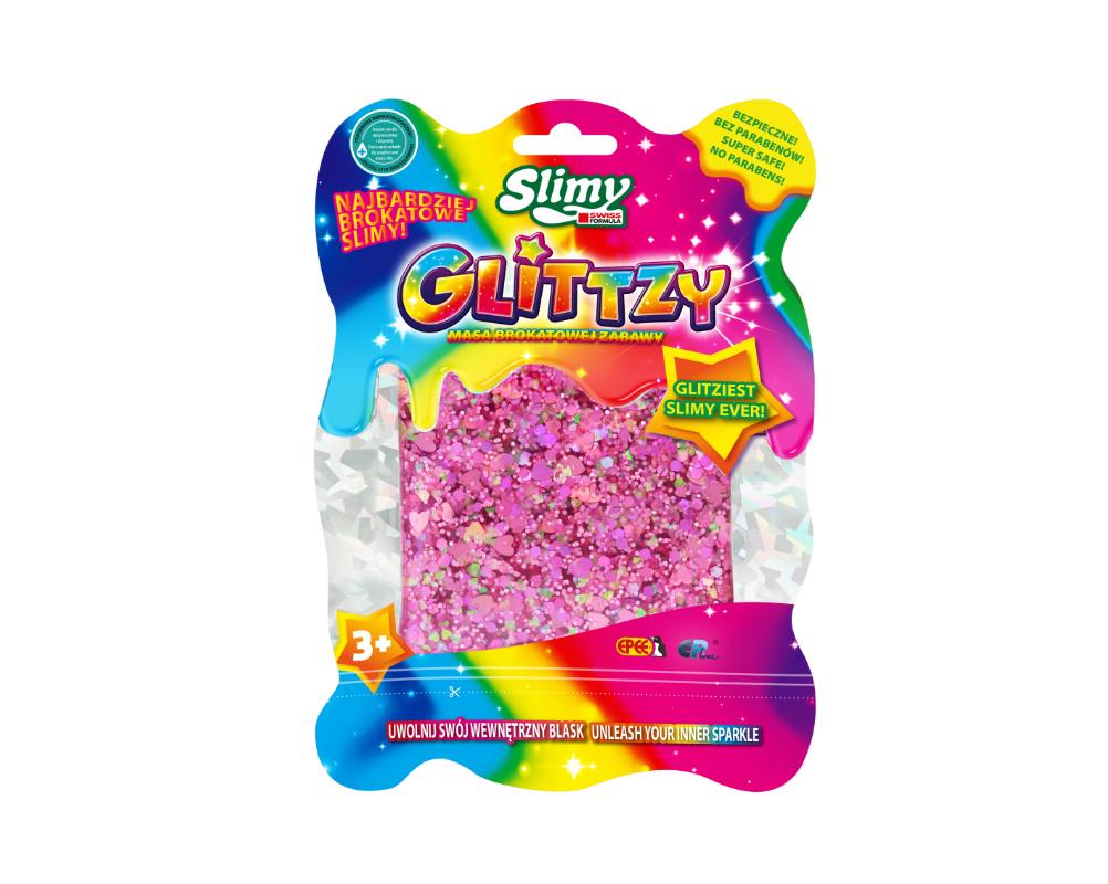Slimy Glittzy – Masa Brokatowej Zabawy - ep03713-slimy-glittzy-rozowy