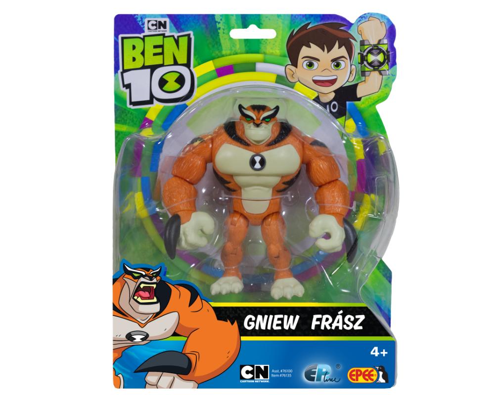 Ben 10 – Figurka podstawowa z akcesoriami 13 cm W8, 5 ass. - pbt76100-ben10-figurka-podstawowa-gniew-opakowanie