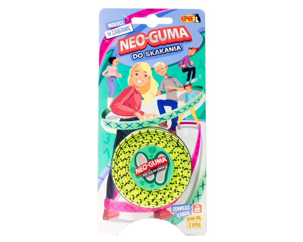 Neo-Guma do skakania - neo-guma-opak-jasnozielona-ep04115