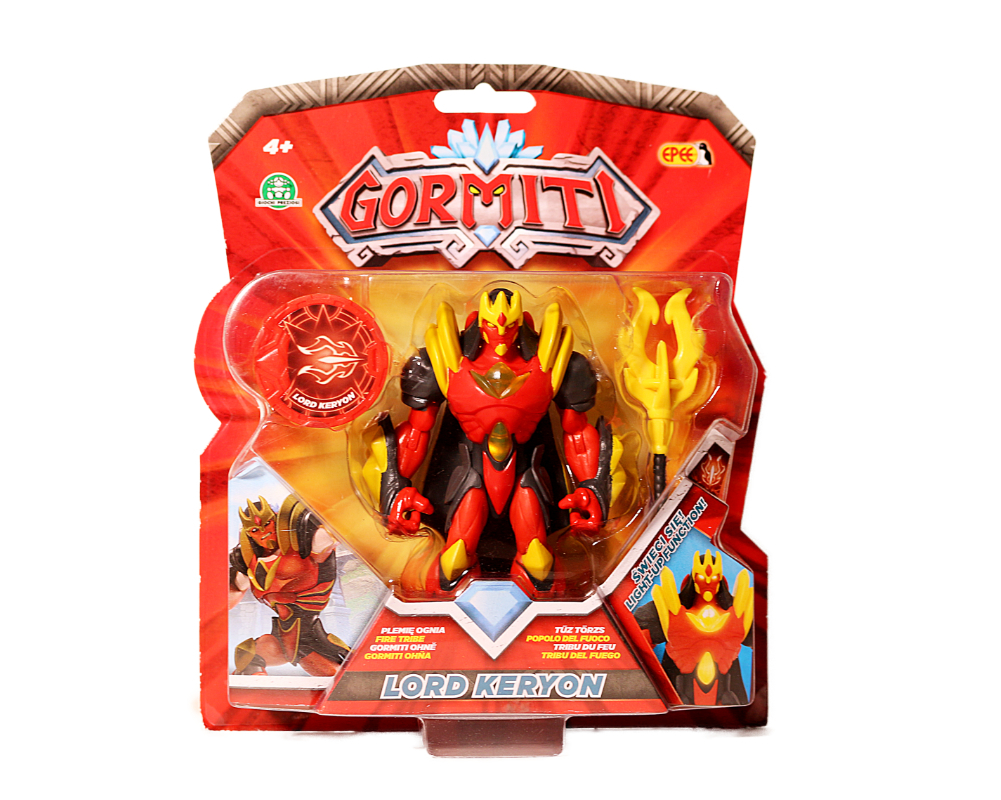 Gormiti – figurka akcyjna 12 cm, 3 ass. - gpgrm02-gormiti-figurka-12cm-lord-keryon-w-opak