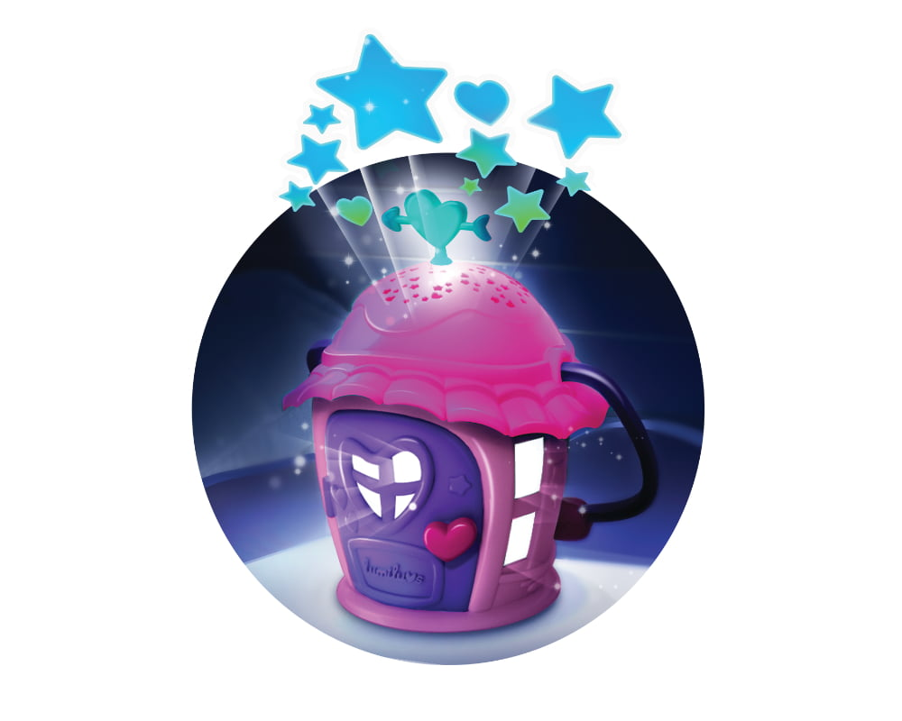 Luminki – Świecący Przyjaciele – Gwiezdna Chatka ze zwierzakiem, 2 ass. - luminki-swiecacy-przyjaciele-gwiezdna-chatka-zabawa2-ep0856