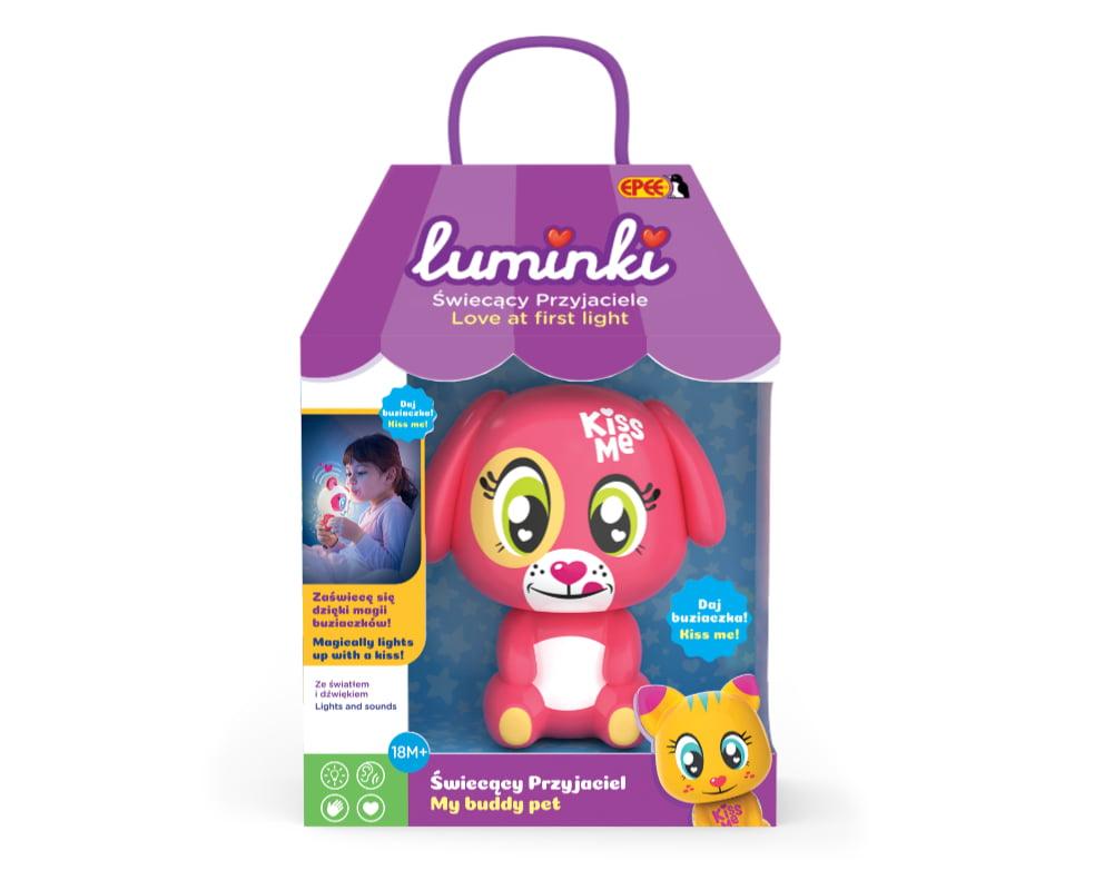Luminki – Świecący Przyjaciele – 1-pack, 6 ass. - luminki-swiecacy-przyjaciele-opak-lapka-ep03855