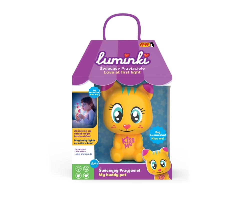 Luminki – Świecący Przyjaciele – 1-pack, 6 ass. - luminki-swiecacy-przyjaciele-opak-miau-ep03855