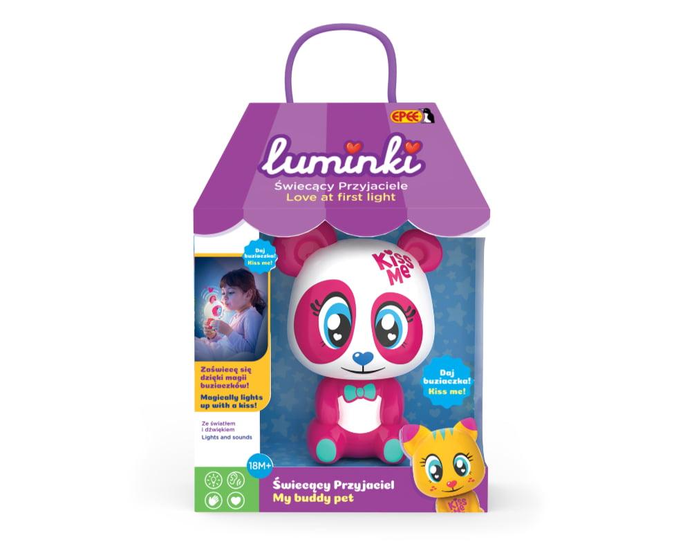 Luminki – Świecący Przyjaciele – 1-pack, 6 ass. - luminki-swiecacy-przyjaciele-opak-pandzia-ep03855