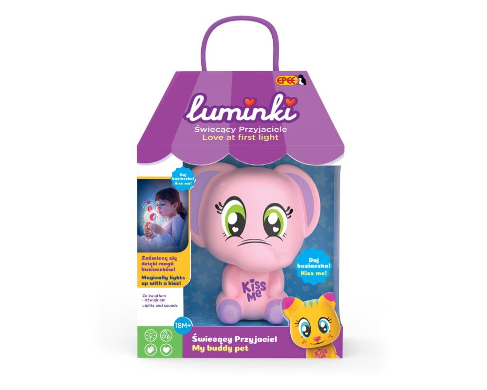 Luminki – Świecący Przyjaciele – 1-pack, 6 ass. - luminki-swiecacy-przyjaciele-opak-trabka-ep03855
