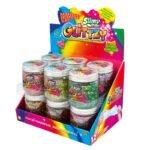 Slimy Glittzy – Masa Brokatowej Zabawy, słoik 240 g - ep03853-slimy-glittzy-sloik-cdu - miniaturka