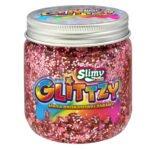 Slimy Glittzy – Masa Brokatowej Zabawy, słoik 240 g - ep03853-slimy-glittzy-sloik-blossom - miniaturka