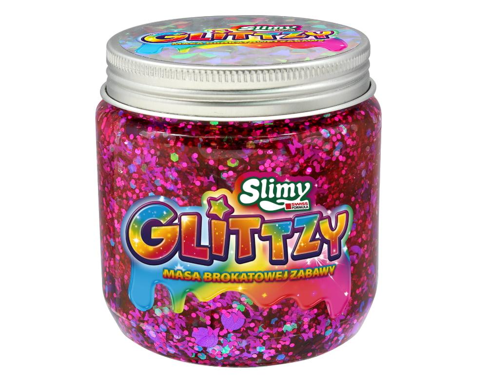 Slimy Glittzy – Masa Brokatowej Zabawy, słoik 240 g - ep03853-slimy-glittzy-sloik-calm