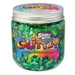 Slimy Glittzy – Masa Brokatowej Zabawy, słoik 240 g - ep03853-slimy-glittzy-sloik-forrest - miniaturka