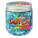 Slimy Glittzy – Masa Brokatowej Zabawy, słoik 240 g - ep03853-slimy-glittzy-sloik-frozen - miniaturka