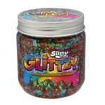Slimy Glittzy – Masa Brokatowej Zabawy, słoik 240 g - ep03853-slimy-glittzy-sloik-happiness - miniaturka