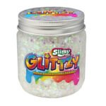 Slimy Glittzy – Masa Brokatowej Zabawy, słoik 240 g - ep03853-slimy-glittzy-sloik-snowy - miniaturka