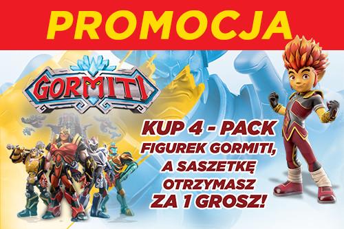 Promocja Gormiti w sklepach Świat Zabawek