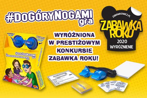 #DoGóryNogami wyróżniona nagrodą Zabawką Roku!