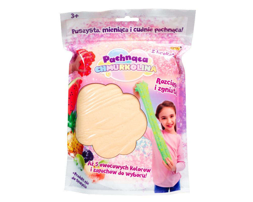 Pachnąca Chmurkolina – Big pack 150 g, 5 ass. - ep04100-pachnaca-chmurkolina-big-pack-brzoskwinia
