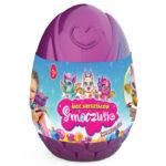 Smoczusie – Moc Kryształów – Plusz w jajku 16 cm, 6 ass. - ep04110-smoczusie-jajo-fioletowe - miniaturka