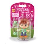 Pinypon City – Laleczka Emoji 7 cm z akcesoriami, 4 ass. - fpp14721-pinypon-laleczka7cm-emoji-w-opak-brazowe-wlosy - miniaturka