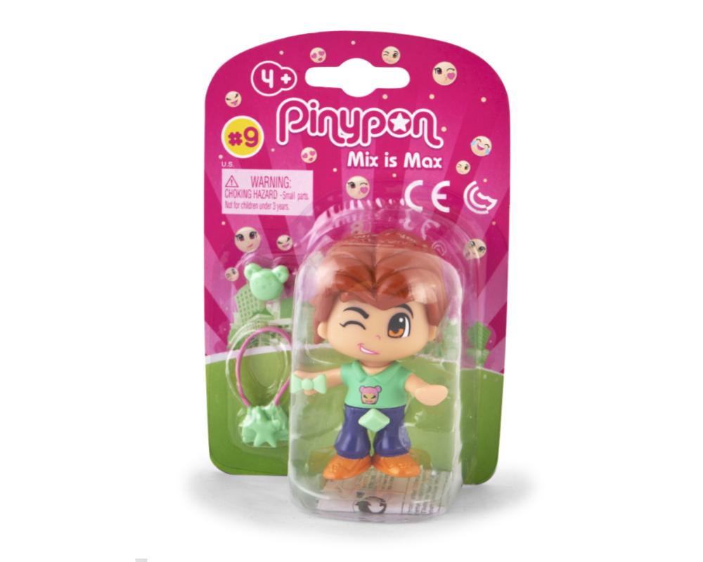 Pinypon City – Laleczka Emoji 7 cm z akcesoriami, 4 ass. - fpp14721-pinypon-laleczka7cm-emoji-w-opak-brazowe-wlosy