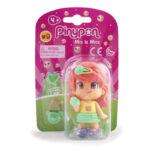 Pinypon City – Laleczka Emoji 7 cm z akcesoriami, 4 ass. - fpp14721-pinypon-laleczka7cm-emoji-w-opak-czerwone-wlosy - miniaturka