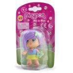 Pinypon City – Laleczka Emoji 7 cm z akcesoriami, 4 ass. - fpp14721-pinypon-laleczka7cm-emoji-w-opak-fioletowe-wlosy - miniaturka