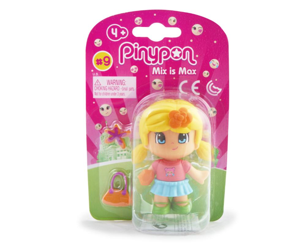 Pinypon City – Laleczka Emoji 7 cm z akcesoriami, 4 ass. - fpp14721-pinypon-laleczka7cm-emoji-w-opak-zolte-wlosy