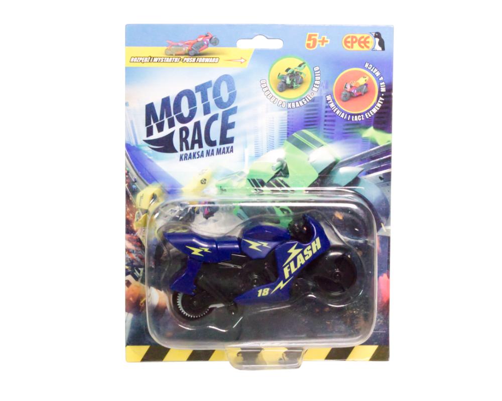 Moto Race – Kraksa na maxa – Motorek 8,5 cm na blistrze, 6 ass. - ep04112-moto-race-motor-w-blistrze-granatowy