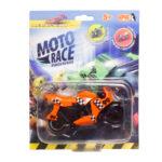 Moto Race – Kraksa na maxa – Motorek 8,5 cm na blistrze, 6 ass. - ep04112-moto-race-motor-w-blistrze-pomaranczowy - miniaturka