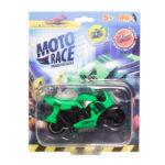 Moto Race – Kraksa na maxa – Motorek 8,5 cm na blistrze, 6 ass. - ep04112-moto-race-motor-w-blistrze-zielony - miniaturka