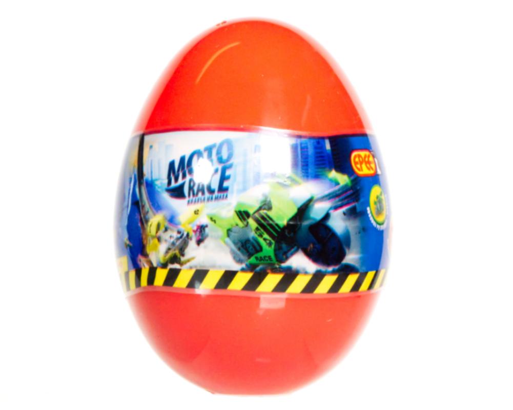Moto Race – Kraksa na maksa – Motorek 6 cm w jajku, 4 ass. - ep04113-moto-race-motor-w-jajku-jajko-czerwone