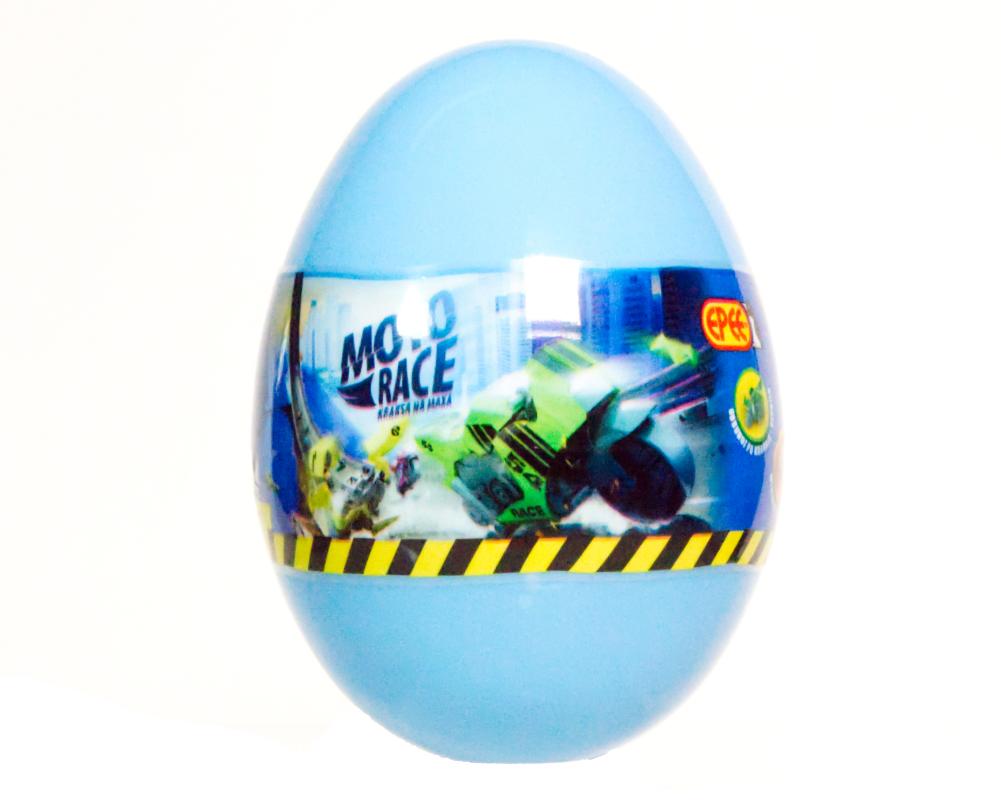 Moto Race – Kraksa na maksa – Motorek 6 cm w jajku, 4 ass. - ep04113-moto-race-motor-w-jajku-jajko-niebieskie