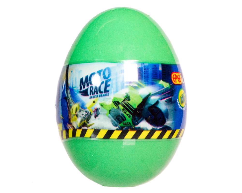 Moto Race – Kraksa na maksa – Motorek 6 cm w jajku, 4 ass. - ep04113-moto-race-motor-w-jajku-jajko-zielone