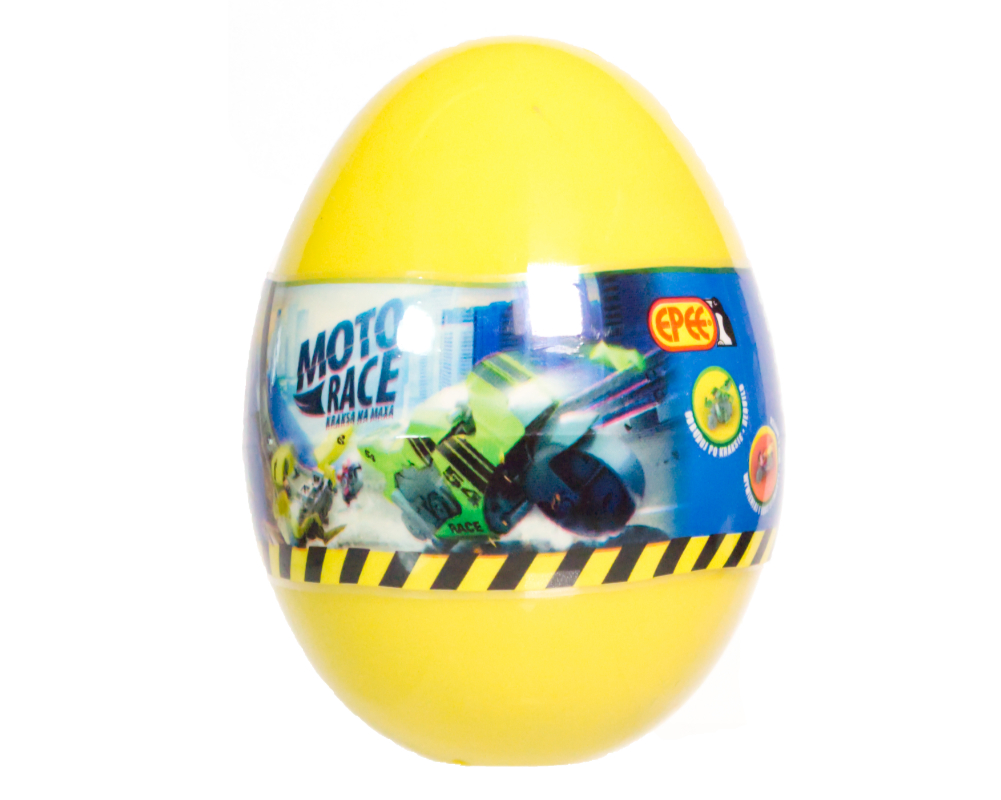 Moto Race – Kraksa na maksa – Motorek 6 cm w jajku, 4 ass. - ep04113-moto-race-motor-w-jajku-jajko-zolte