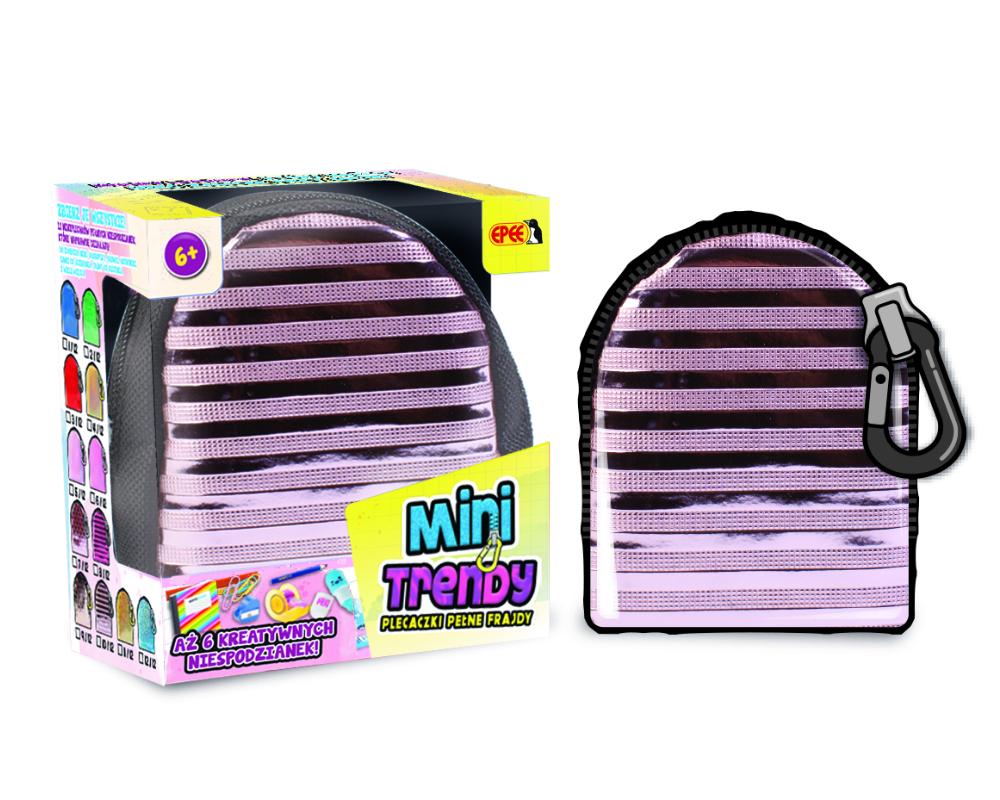 MiniTrendy – Plecaczki pełne frajdy, 12 ass. - ep04114-minitrendy-kompozycja-fioletowe-paski