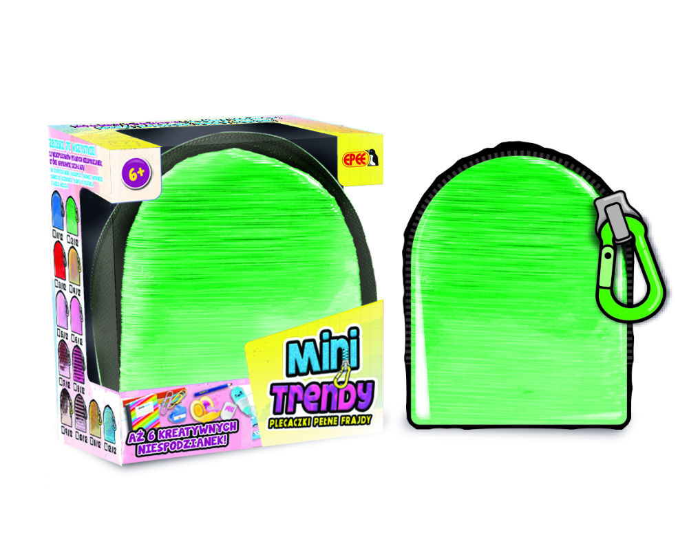 MiniTrendy – Plecaczki pełne frajdy, 12 ass. - ep04114-minitrendy-kompozycja-zielony