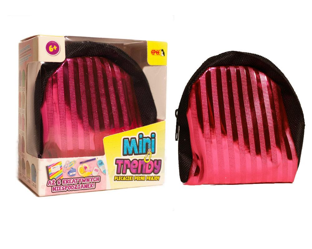 MiniTrendy – Plecaczki pełne frajdy, 12 ass. - minitrendy-kompozycja-rozowy-ep04114
