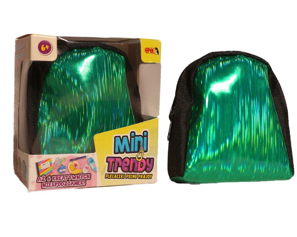 MiniTrendy – Plecaczki pełne frajdy, 12 ass. - minitrendy-kompozycja-zielony-ep04114