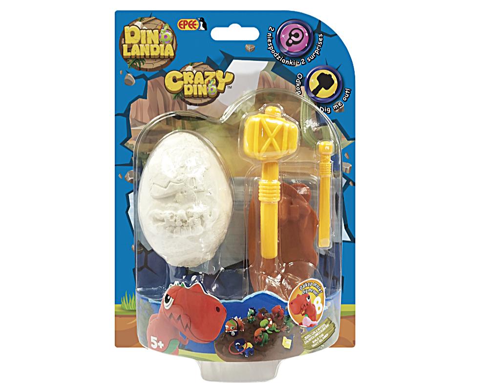DinoLandia – jajo z figurką i akcesoriami, 10 ass. - dinolandia-opakowanie-ep04057