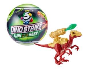 Niespodzianek 5! Dino Strike – świecące w ciemności