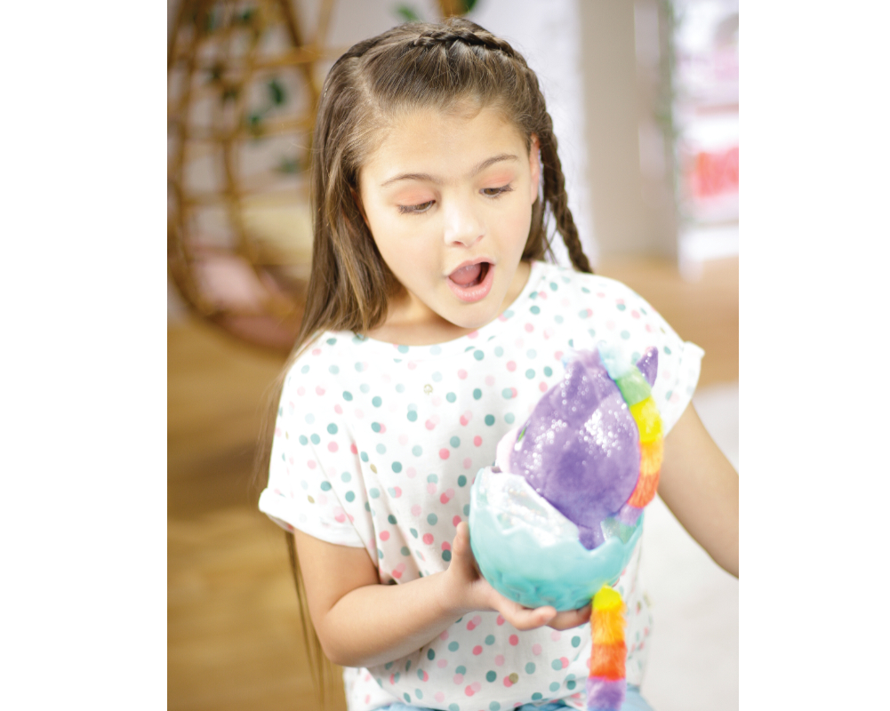 Jednorożce – Moc Kryształów – Plusz w jajku 16 cm - moc-krysztalow-jednorozce-zabawa-ep04058