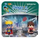 Pinypon Action – 2-pack figurek 7 cm, 2 ass. - pinypon-action-2pack-pilkarz-superbohater-opak-fpp16056 - miniaturka