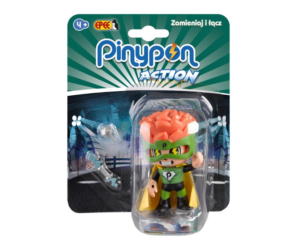 Pinypon Action – Figurka 7 cm z akcesoriami, 5 ass. - pinypon-action-figurka-superbohater-fpp16055