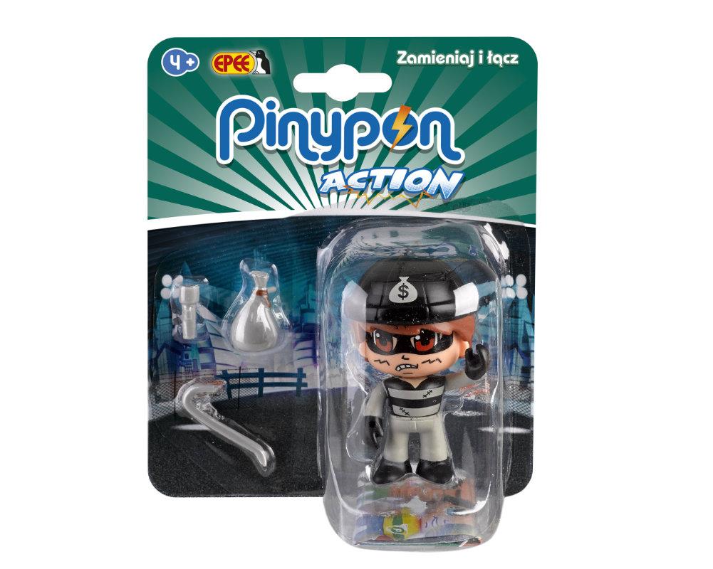 Pinypon Action – Figurka 7 cm z akcesoriami, 5 ass. - pinypon-action-figurka-zlodziej-fpp16055