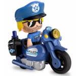 Pinypon Action – Pojazd z figurką 7 cm i akcesoriami, 2 ass. - pinypon-action-zestaw-pojazdow-policja-bez-opak-fpp16057 - miniaturka