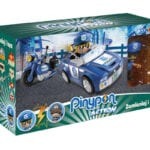 Pinypon Action – Pojazd z figurką 7 cm i akcesoriami, 2 ass. - pinypon-action-zestaw-pojazdow-policja-opak-fpp16057 - miniaturka