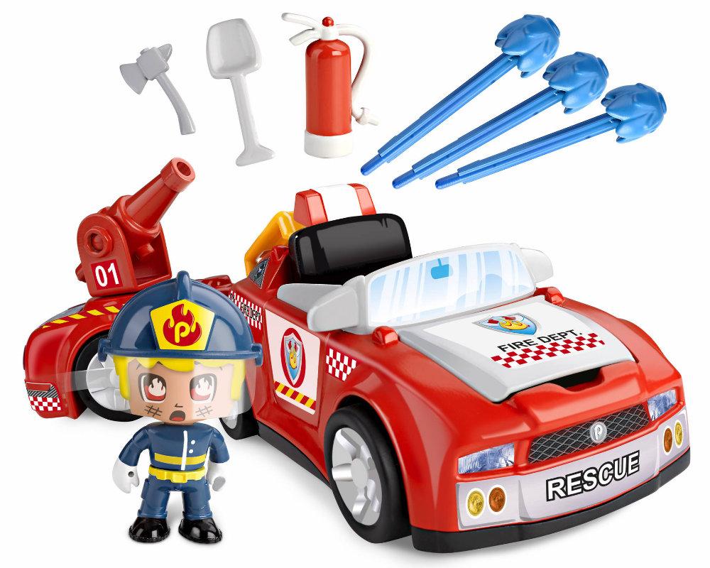 Pinypon Action – Pojazd z figurką 7 cm i akcesoriami, 2 ass. - pinypon-action-zestaw-pojazdow-straz-bez-opak2-fpp16057
