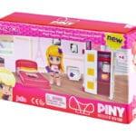 """Pinypon City – Zestaw """"Pokoik"""" z laleczką 8 cm i akcesoriami, 2 ass. - pinypon-city-pokoik-opak2-fpp14155 - miniaturka"""