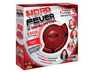 Word Fever – W ogniu pytań – elektroniczna gra familijna